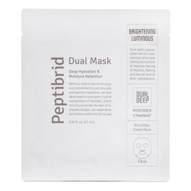 Маска для лица Peptibrid Dual Mask Brightening Luminous